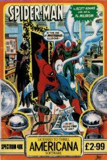 Cover for spiderman